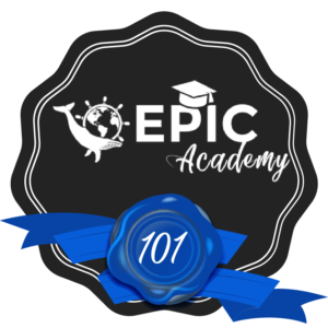 EPIC ACADEMY - LESSON 1 PASSED BADGE